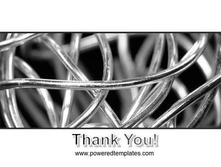 Steel Wires PowerPoint Template Slide 20