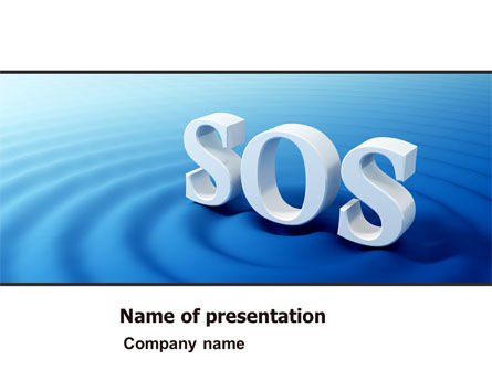 Consulting: SOS PowerPoint Template #07150
