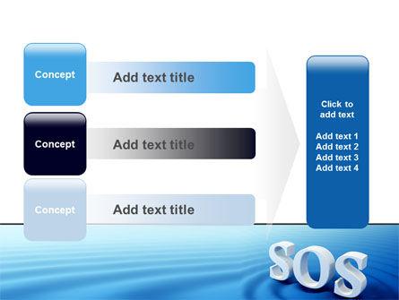 SOS PowerPoint Template Slide 12