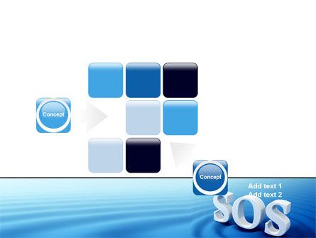 SOS PowerPoint Template Slide 16