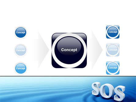 SOS PowerPoint Template Slide 17