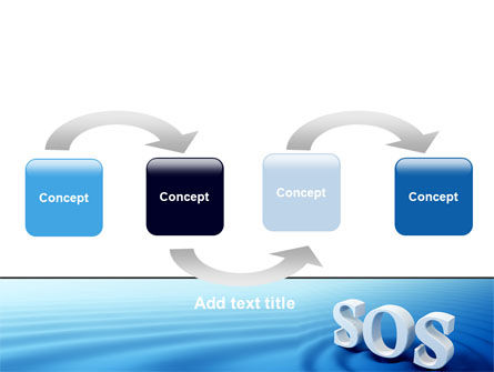 SOS PowerPoint Template Slide 4