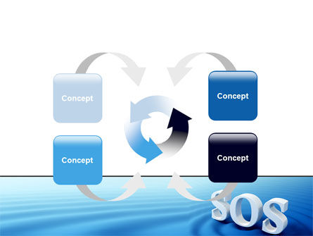 SOS PowerPoint Template Slide 6