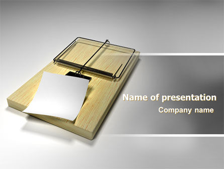 Consulting: Mouse Trap PowerPoint Template #07151