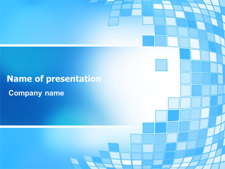 Bulging Theme PowerPoint Template