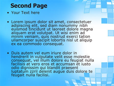 Bulging Theme PowerPoint Template Slide 2