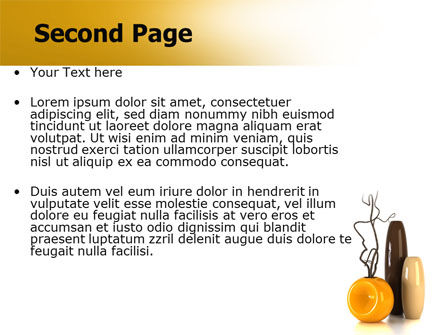 Vases PowerPoint Template Slide 2