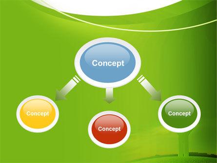 Green Man PowerPoint Template, Slide 4, 07156, Nature & Environment — PoweredTemplate.com