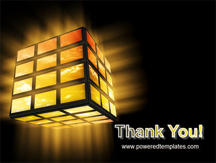 Light Cube PowerPoint Template Slide 20