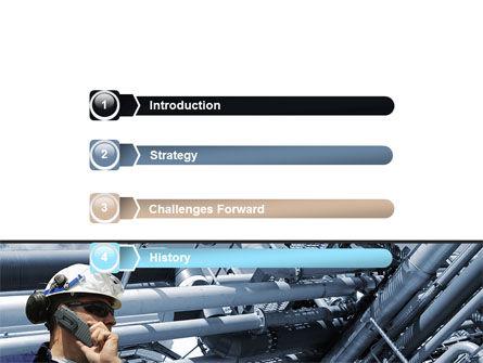 Engineering Industry PowerPoint Template, Slide 3, 07159, Utilities/Industrial — PoweredTemplate.com