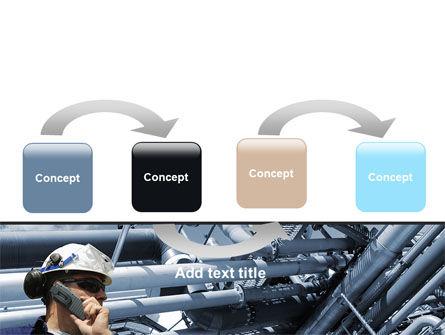 Engineering Industry PowerPoint Template, Slide 4, 07159, Utilities/Industrial — PoweredTemplate.com