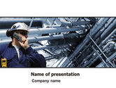Utilities/Industrial: Engineering Industry PowerPoint Template #07159