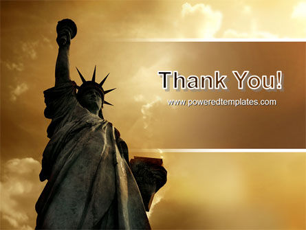 Liberty Statue PowerPoint Template Slide 20