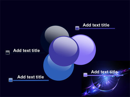 Abstract Cosmic Theme PowerPoint Template Slide 10