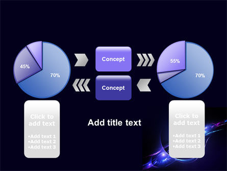 Abstract Cosmic Theme PowerPoint Template Slide 11