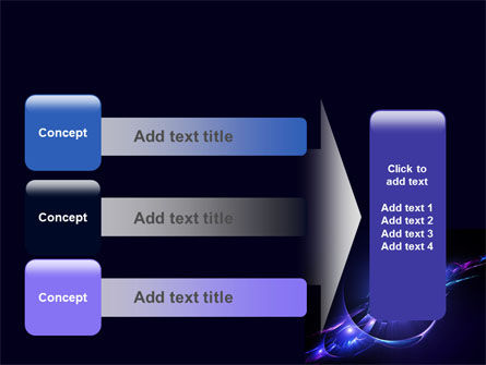 Abstract Cosmic Theme PowerPoint Template Slide 12