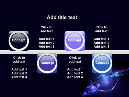 Abstract Cosmic Theme PowerPoint Template Slide 19