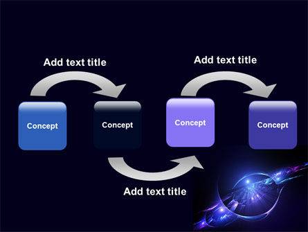 Abstract Cosmic Theme PowerPoint Template Slide 4