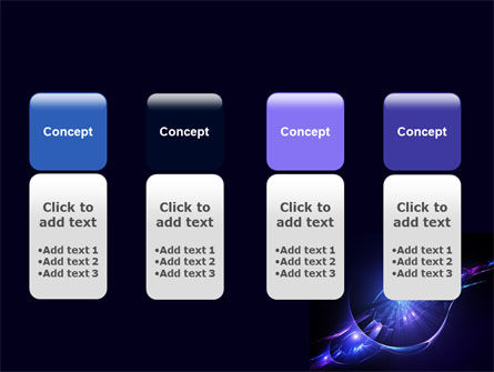 Abstract Cosmic Theme PowerPoint Template Slide 5