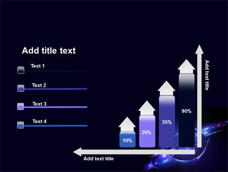 Abstract Cosmic Theme PowerPoint Template Slide 8