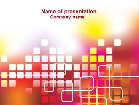Abstract/Textures: Abstract Digital Theme PowerPoint Template #07166