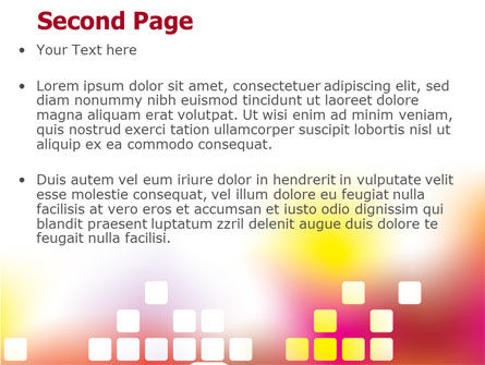 Abstract Digital Theme PowerPoint Template Slide 2