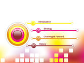 Abstract Digital Theme PowerPoint Template#3