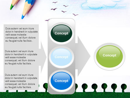 Drawing Notepad PowerPoint Template Slide 11