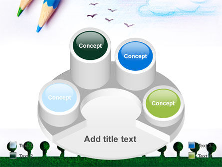 Drawing Notepad PowerPoint Template Slide 12