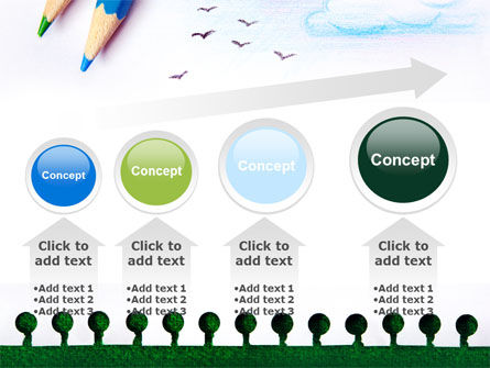 Drawing Notepad PowerPoint Template Slide 13