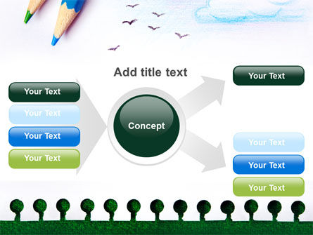 Drawing Notepad PowerPoint Template Slide 14