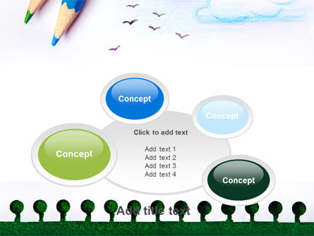 Drawing Notepad PowerPoint Template Slide 16