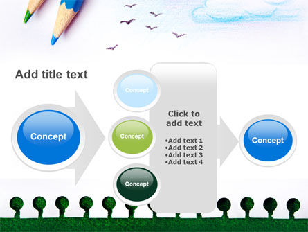 Drawing Notepad PowerPoint Template Slide 17