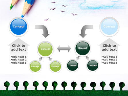 Drawing Notepad PowerPoint Template Slide 19