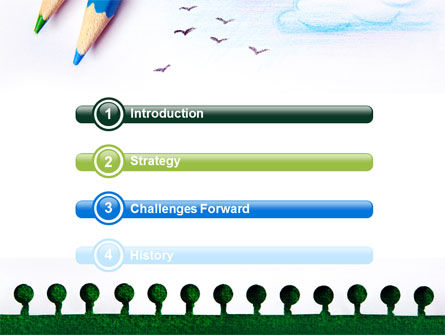 Drawing Notepad PowerPoint Template, Slide 3, 07169, Education & Training — PoweredTemplate.com