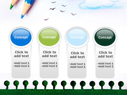 Drawing Notepad PowerPoint Template Slide 5