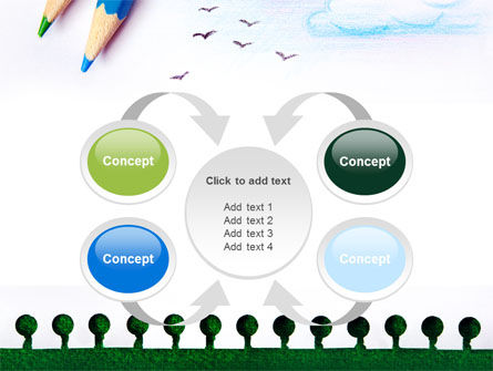 Drawing Notepad PowerPoint Template Slide 6