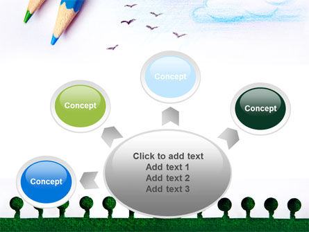 Drawing Notepad PowerPoint Template Slide 7