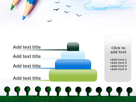 Drawing Notepad PowerPoint Template Slide 8