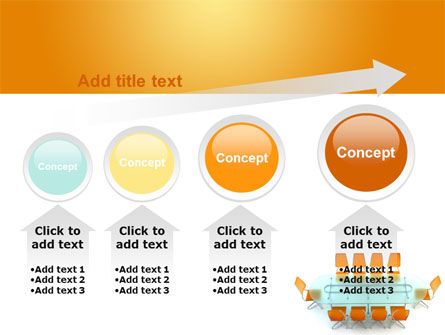Conference Room PowerPoint Template Slide 13