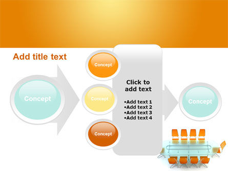 Conference Room PowerPoint Template Slide 17
