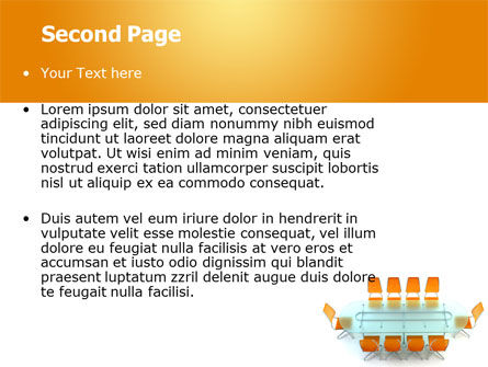 Conference Room PowerPoint Template Slide 2
