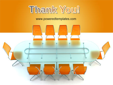 Conference Room PowerPoint Template Slide 20