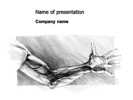 Art & Entertainment: Hand Sketch PowerPoint Template #07172