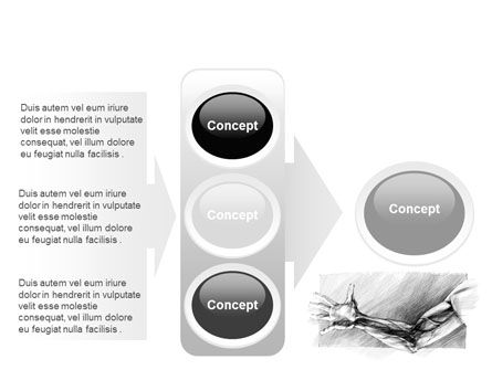 Hand Sketch PowerPoint Template Slide 11