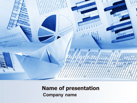 Financial/Accounting: Rates and Charts PowerPoint Template #07174