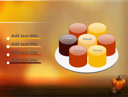Pumpkin Carriage PowerPoint Template Slide 12