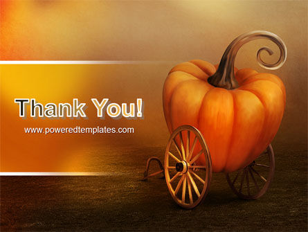Pumpkin Carriage PowerPoint Template Slide 20
