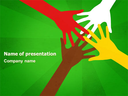 Racial Unity PowerPoint Template, 07178, Religious/Spiritual — PoweredTemplate.com