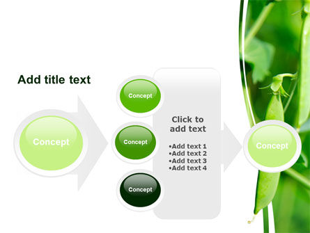 Pea Pods PowerPoint Template Slide 17